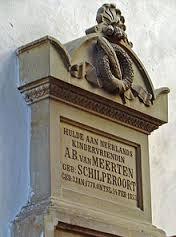 Bovenste deel van het monument in de St.-Janskerk