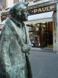 Standbeeld van Erasmus in Leuven