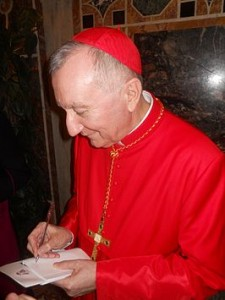 Kardinaal-staatssecretaris Pietro Parolin