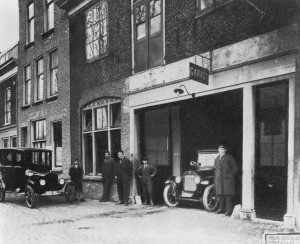 Garage in de Spieringstraat