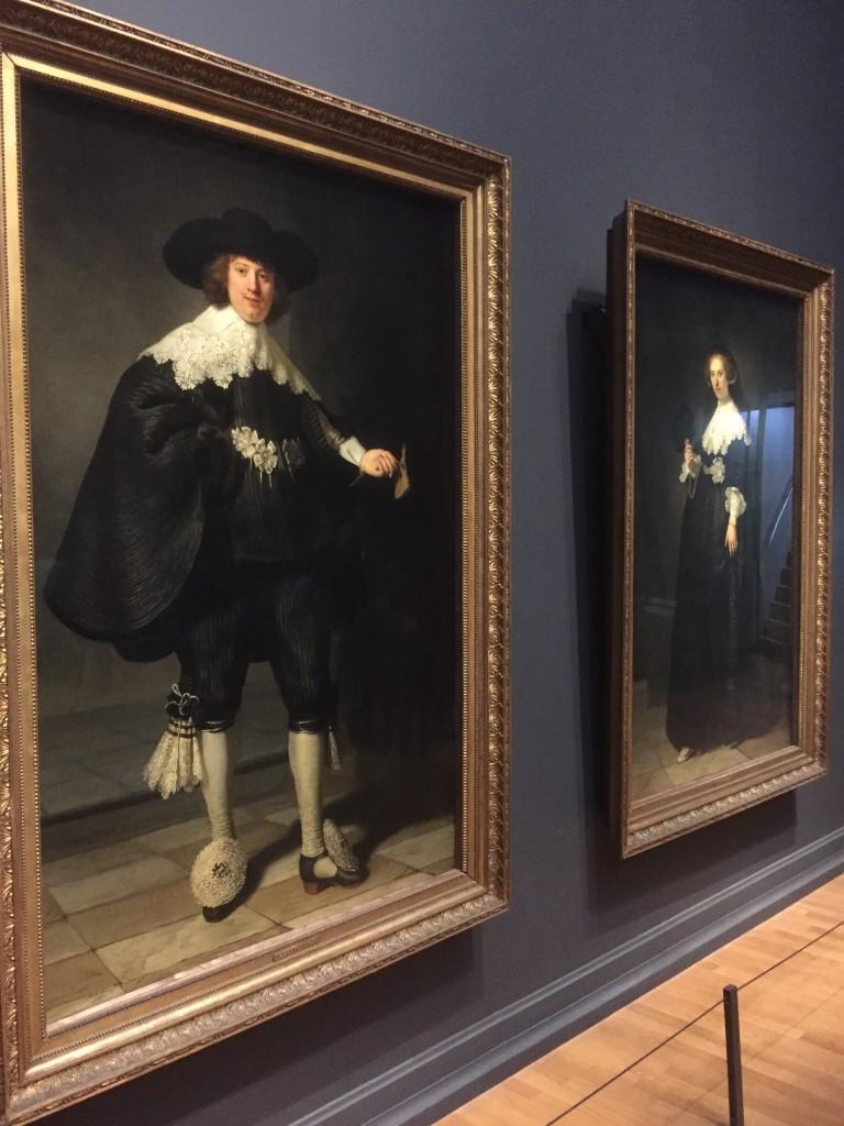 Rembrandts Oopjen en Marten in het Rijksmuseum