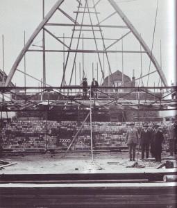 Bouw van de huidige Turfmarktkerk in 1931