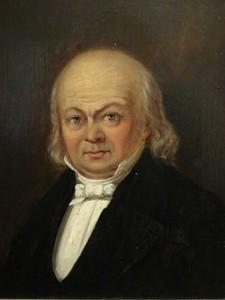Portret van Büchner (ca. 1840)