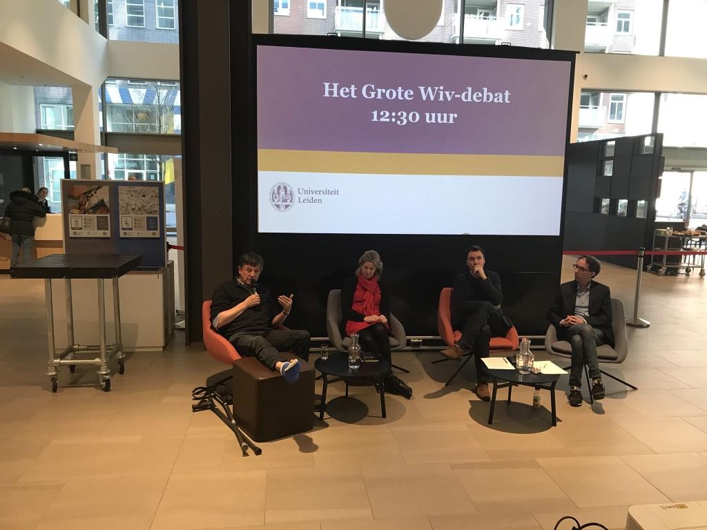 Het Grote WIV-debat van ISGA, een thuiswedstrijd in Leiden met Peter Koop, Inge Philips en Constant Hijzen