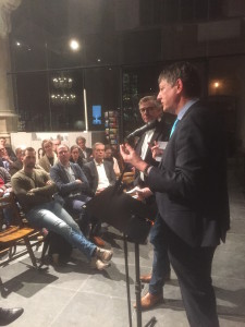 Jansdebat in Goudse Sint-Jan met prof. Marc de Vries van TU Delft