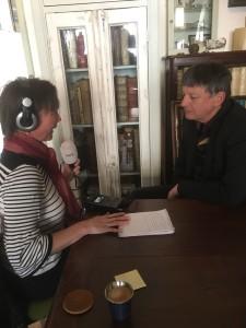 Met Karin Alberts van Radio1