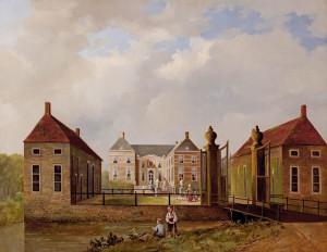 Huize Almelo, woonstee van de grafelijke familie Van Rechteren, herbouwd in 1652