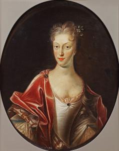De tragisch jong overleden echtgenote van graaf Adolph, Augusta Florentina. Foto: Stichting Familie van Rechteren Limpurg