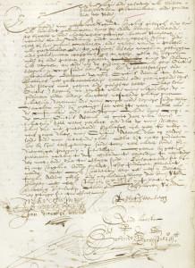 notaris Schoudt, inventaris 149 pagina 14 (digitaal) , toegang tot het Haarlemse oud-notarieel archief vanaf 1617.betreft 21 januari 1636, akte 8 Ene Roeloff Steenbergh verklaart op verzoek van Willem Jansz Verstraeten dat hij getuige was bij een transactie tussen Willem Jansz Verstraeten en Ovitius Abbema te Utrecht die de gereedschappen en materialen die hij gebruikte voor het geleijers of plateelbacken  verkocht, inclusief een partij brandhout. Maar genoemde Ovitius zou een groot deel van het hout achter gehouden hebben tot groot ongenoegen van Willem Jansz Verstraeten.