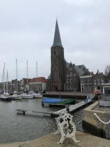 De rooms-katholieke kerk van Harlingen aan de Zuiderhaven